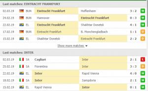 , ยูโรป้า ลีก :ไอน์ทรัค แฟร้งค์เฟิร์ต VS อินเตอร์ มิลาน, ลุงรวย(ใคร)
