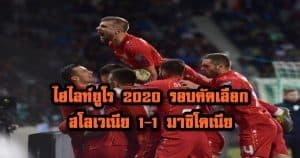 , ไฮไลท์ยูโร 2020 รอบคัดเลือก สโลเวเนีย 1-1 มาซิโดเนีย, ลุงรวย(ใคร)