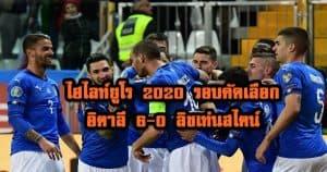 , ไฮไลท์ยูโร 2020 รอบคัดเลือก อิตาลี 6-0 ลิชเท่นสไตน์, ลุงรวย(ใคร)